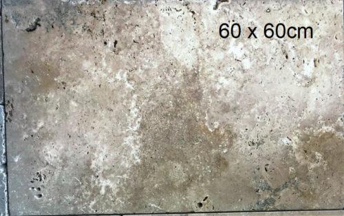 60 x 60cm travertin commercial