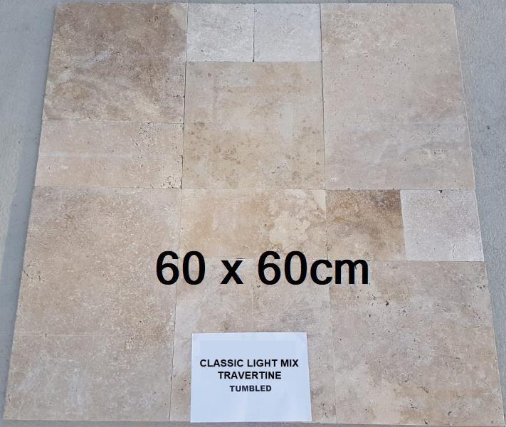 60x60 travertin