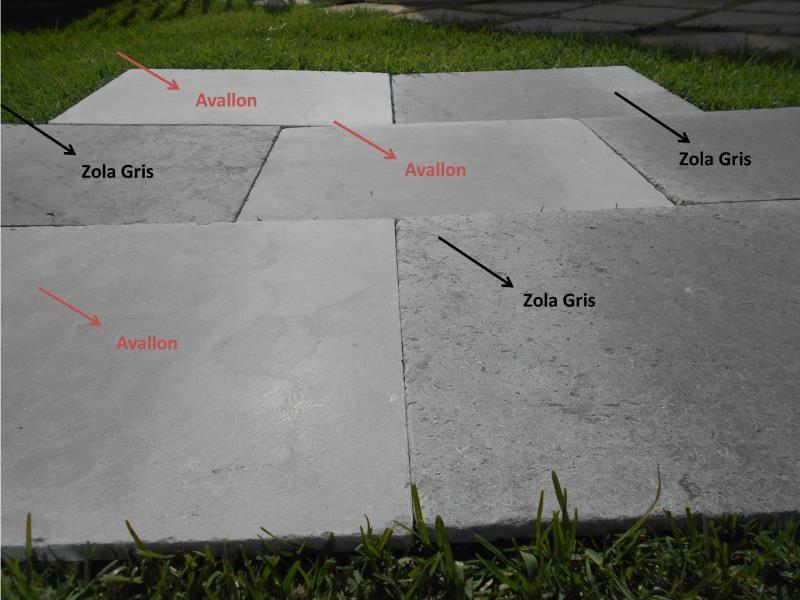 Amazone gris vibré pierre naturelle