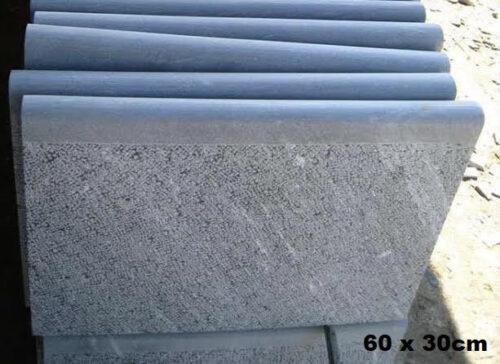 Blue stone margelle nez boudin
