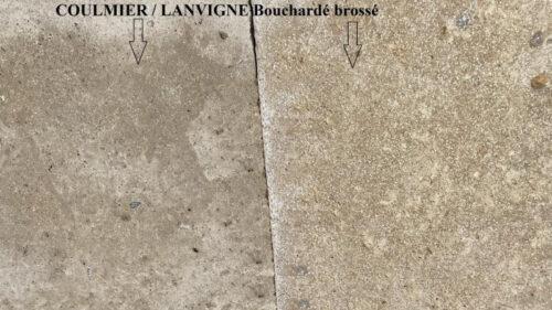 COULMIER - LANVIGNES Bouchardé brossé