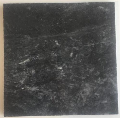 Cabochon marbre noir