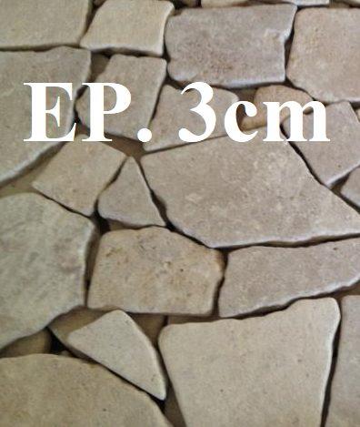 Opus Incertum vibré pierre naturelle
