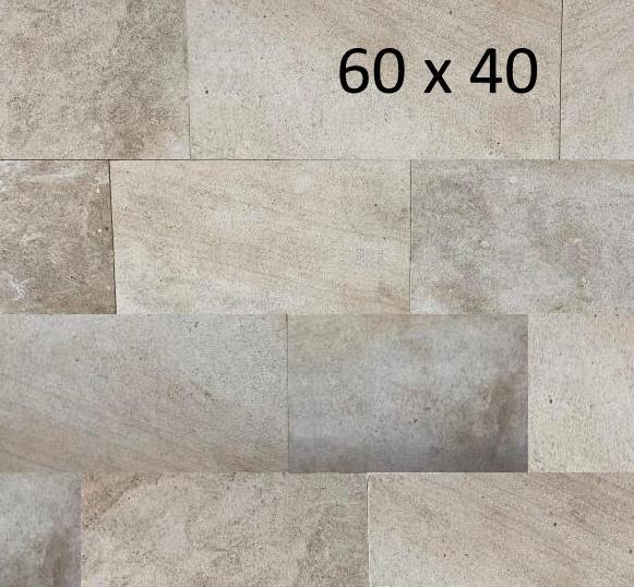 MAUVILLY 60X40cm dallage pierre naturelle