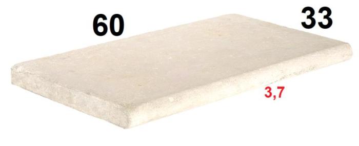 Margelle chablis pierre