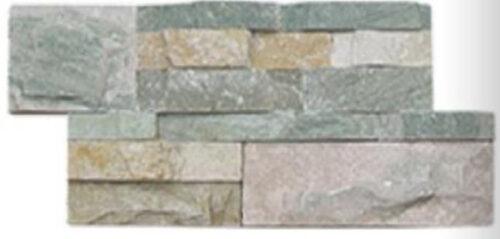 Parement gris beige clair en pierre naturelle
