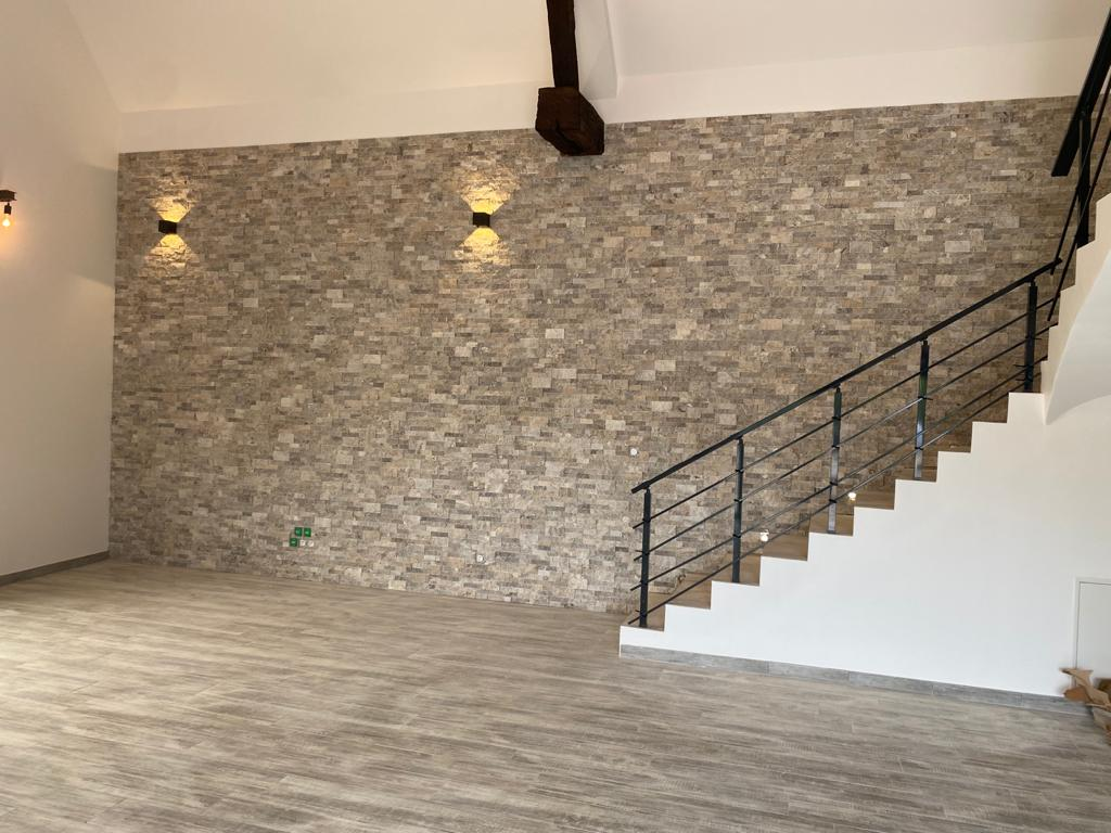 Parement pierre Travertin silver naturel (1)