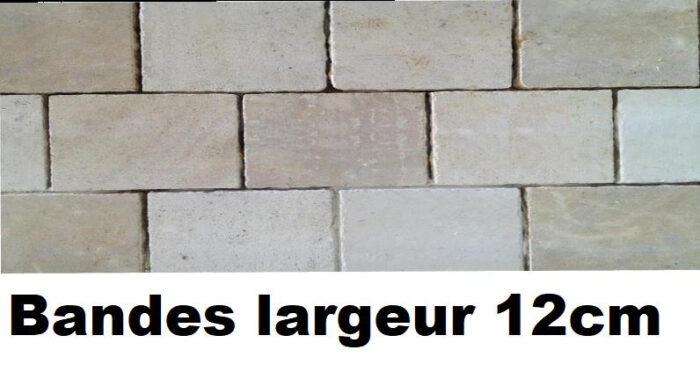 Pavé Chatillonnais bande de 12cm de large