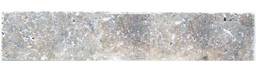Plinthe Travertin gris silver commercial