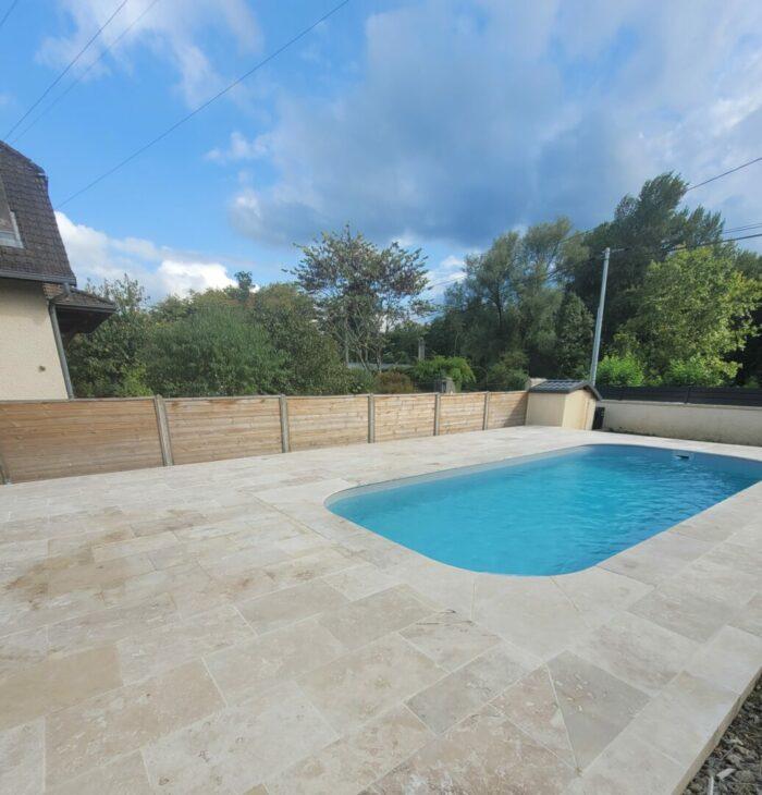 Travertin commercial pour Terrasse, plage de piscine en TRAVERTIN