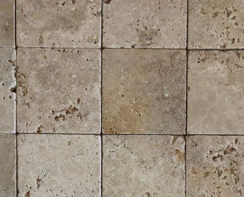 Travertin 15x15x1cm - Commercial