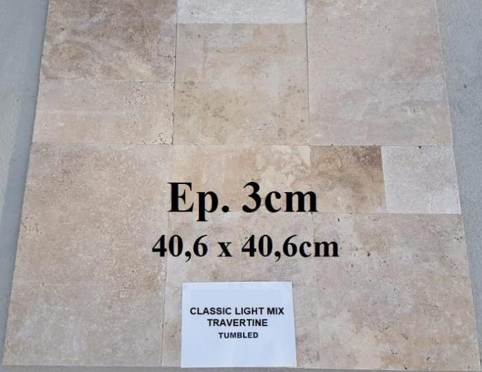 Travertin 40x40x3cm