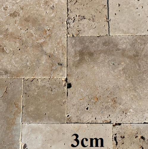 Travertin commercial 3cm opus romain