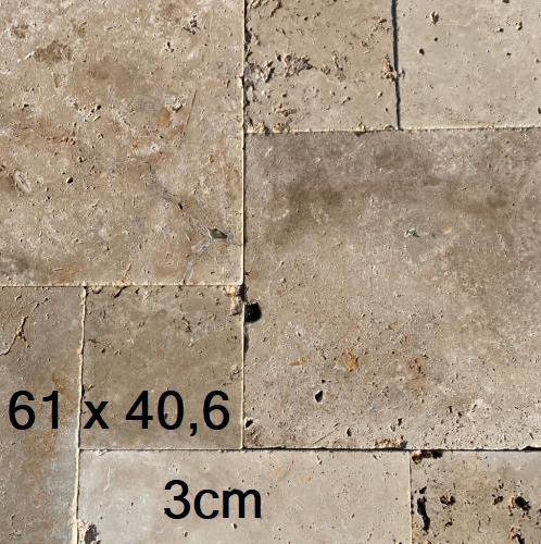 Travertin commercial 3cm