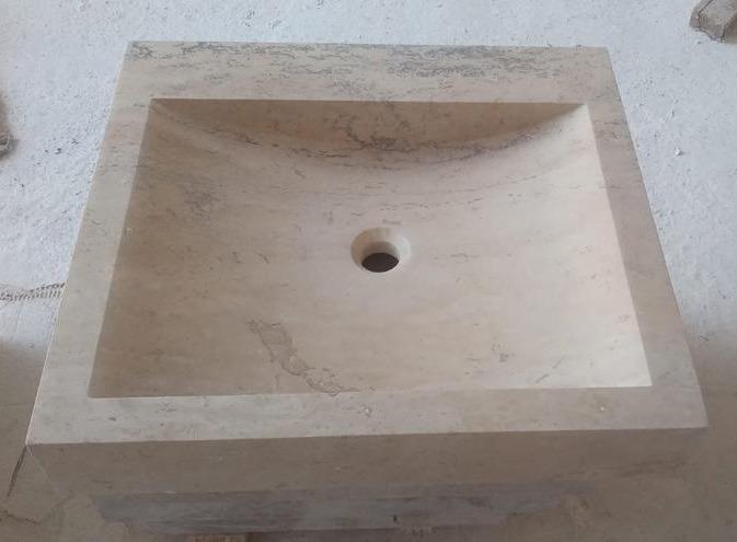 Vasque Travertin pierre naturelle