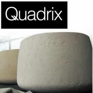Vasque en pierre massive Quadrix