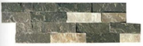 parement foncé en pierre naturelle format en Z