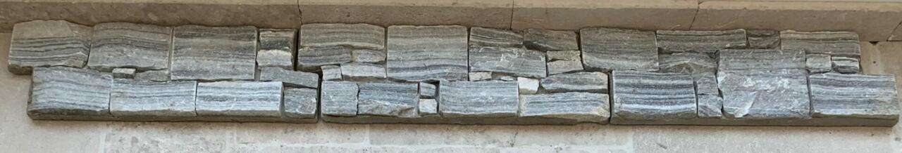 Parement pierre Quartzite gris clair