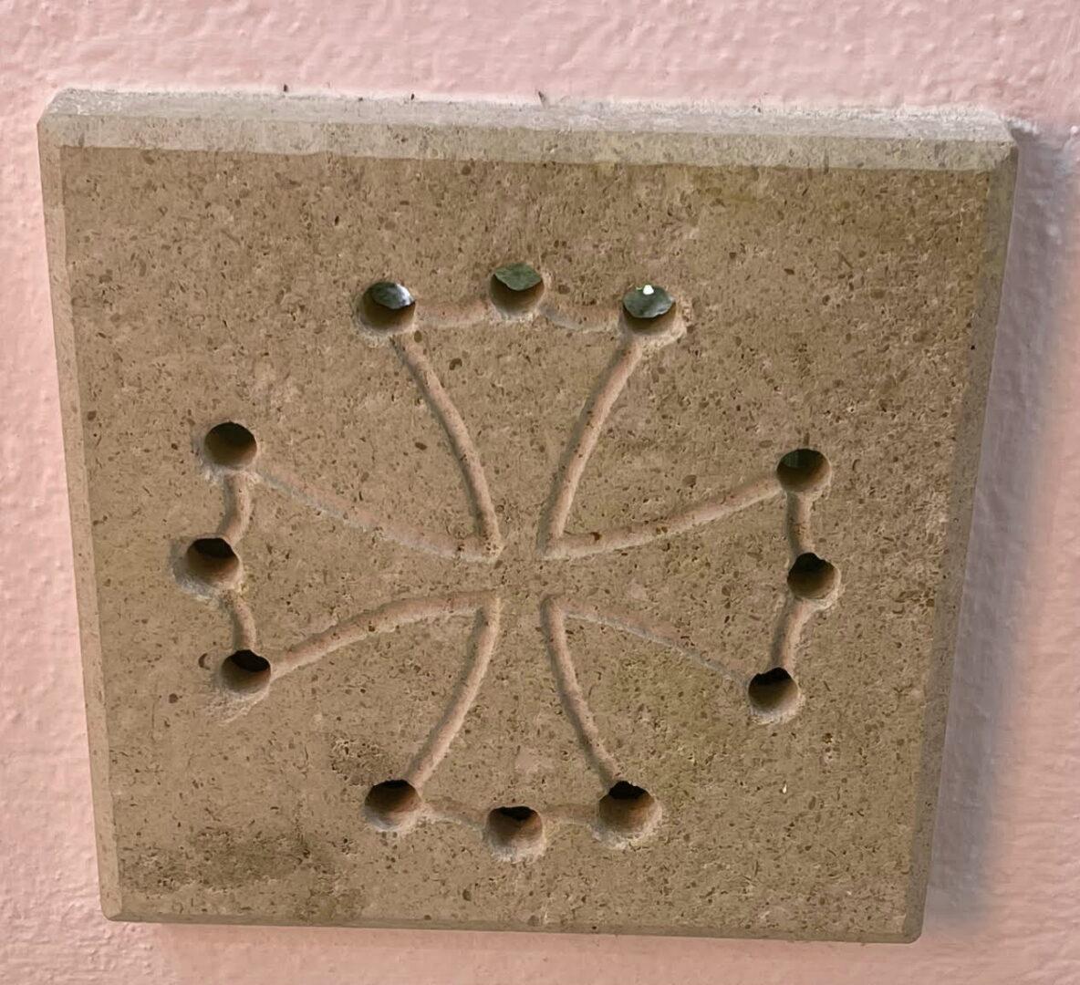 Grille d'aération en croix Occitane