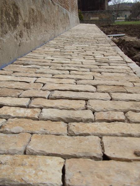 Pavé de Bourgogne ancien pierre naturelle