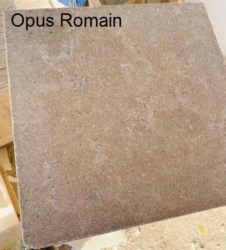 Sinaï Pearl vibré Opus Romain en pierre naturelle